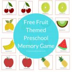 Preschool Memory Game | The Purposeful Nest   Free Printable Matching Cards