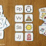 Printable Alphabet Memory Game Cards   Frugal Fun For Boys And Girls   Free Printable Alphabet Games