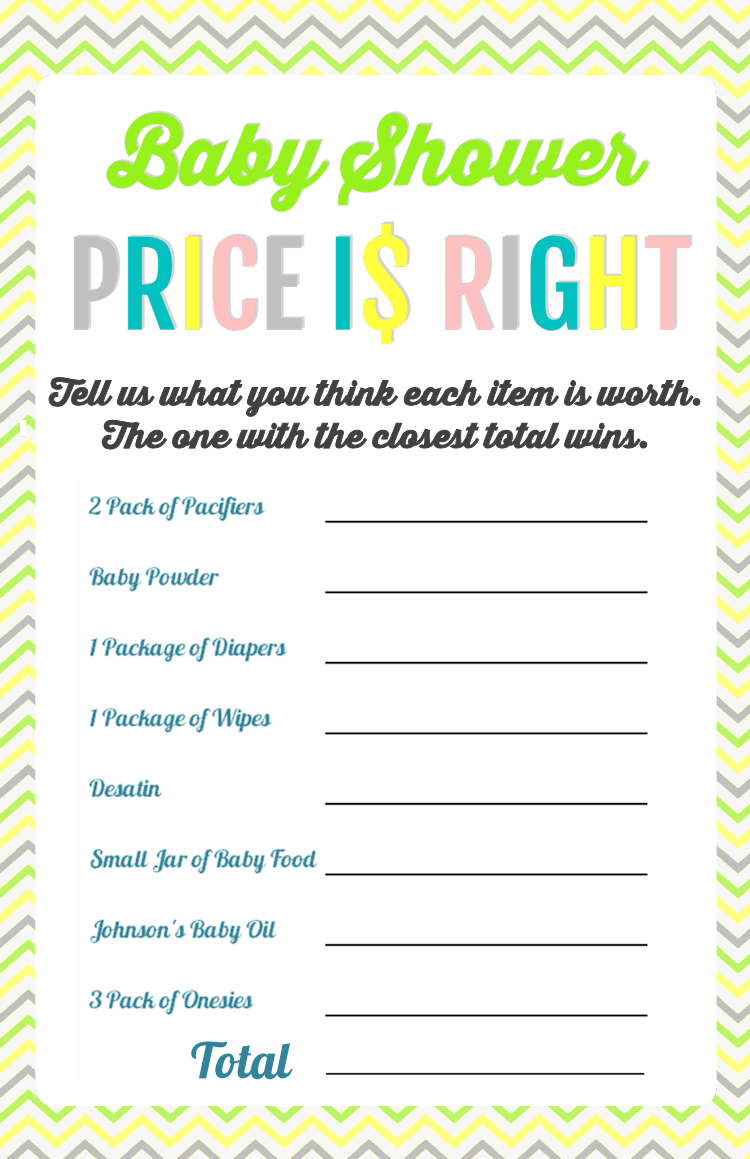 Printable Baby Shower Games | Baby Shower | Baby Shower Printables - Free Printable Baby Shower Games