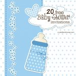 Printable Baby Shower Invitations   Free Printable Baby Shower Invitations Templates For Boys