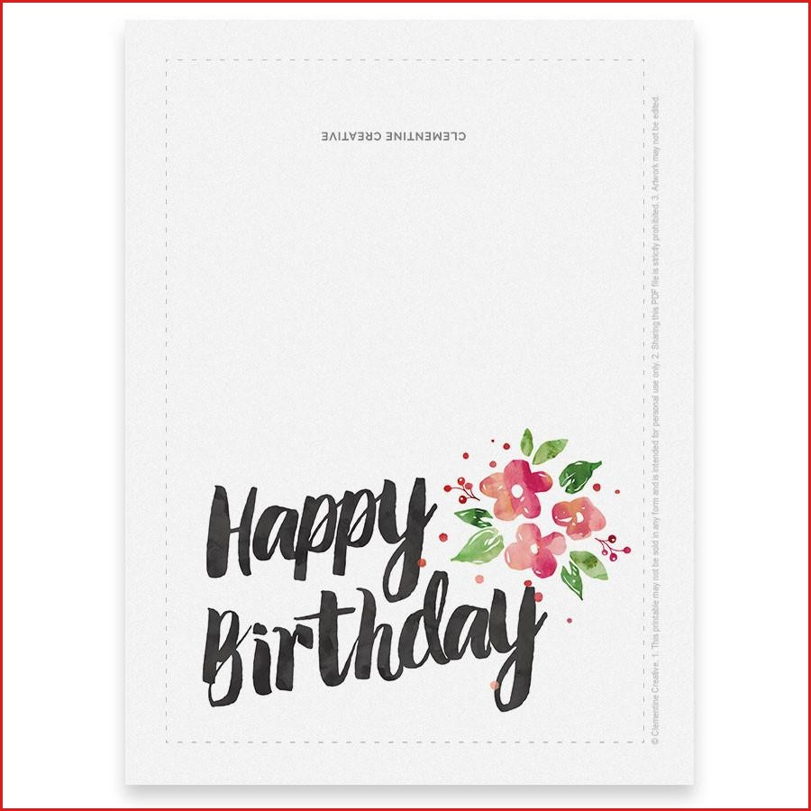 Printable Birthday Card For Her Clementine Creative Free Humorous - Free Printable Humorous Birthday Cards