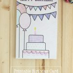 Printable Birthday Coloring Pages | Printables | Birthday Coloring   Free Printable Funny Birthday Cards For Dad