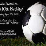 Printable Birthday Invitations Teenage Boys | Free Printable   Free Printable Soccer Birthday Invitations