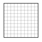 Printable Blank 100 Square Grid | Math | 100 Grid, Grid, The 100   Free Printable Hundreds Grid