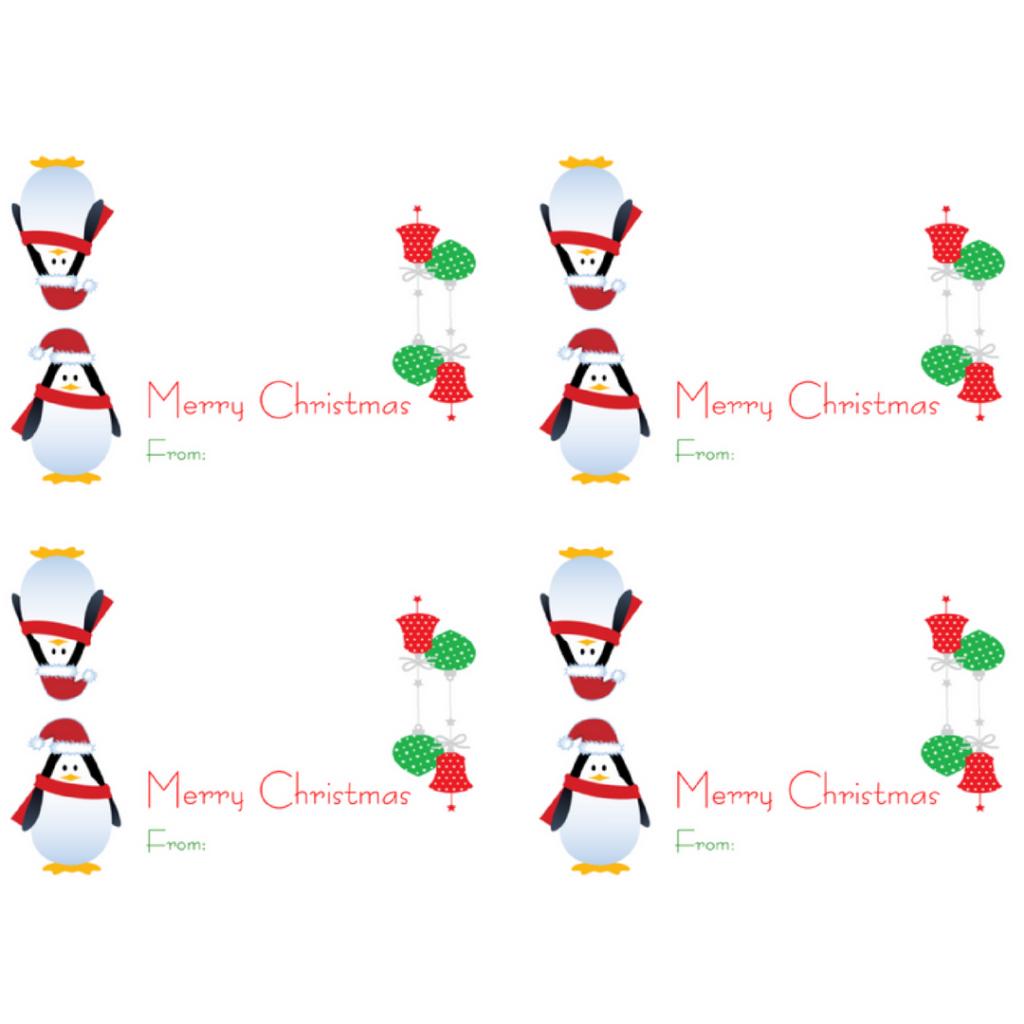 Printable Christmas Bag Toppers – Festival Collections - Free Printable Christmas Bag Toppers Templates