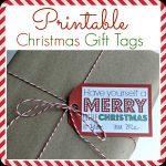 Printable Christmas Gift Tags   Free Printable Gift Tags Personalized