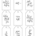Printable Christmas Gift Tags Make Holiday Wrapping Simple   Diy Gift Tags Free Printable