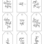 Printable Christmas Gift Tags Make Holiday Wrapping Simple   Free Printable Gift Tags