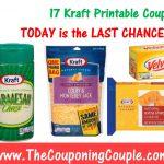 Printable Coupons   Free Printable Kraft Food Coupons