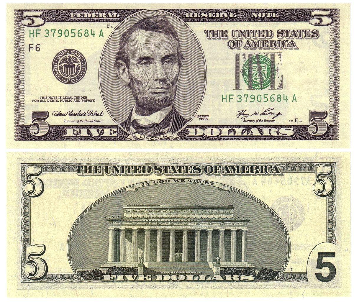 Printable Dollar Bills | 2006 5, Old Style? | Coping Skills | Dollar - Free Printable Play Dollar Bills
