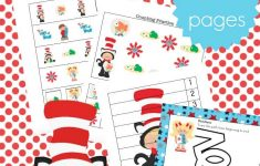 Printable Dr Seuss Activities For Kindergarten And Preschool – Free Printable Dr Seuss Math Worksheets
