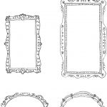 Printable Frames} | Craft Herpes: Printables And Typography | Free   Free Printable Photo Frames