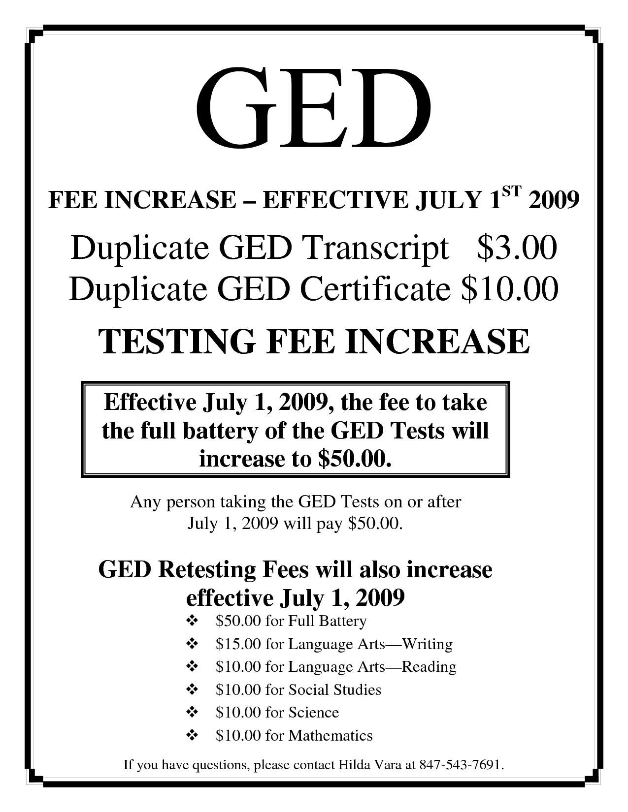 Printable Ged Certificate | Katieroseintimates - Free Printable Ged Transcripts