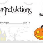 Printable Halloween Certificate   Great For Teachers Or For   Free Printable Halloween Award Certificates
