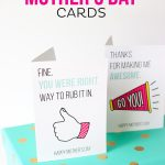 Printable Mother's Day Cards   Free Funny Printable Cards