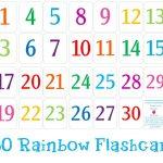 Printable Number Cards 1 30   Numbers   Number Flashcards, Numbers   Free Printable Number Flashcards 1 30