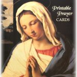 Printable Prayer Cards   Free Printable Catholic Prayer Cards