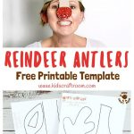 Printable Reindeer Antlers Hat | Printable Crafts | Childrens   Free Printable Crafts