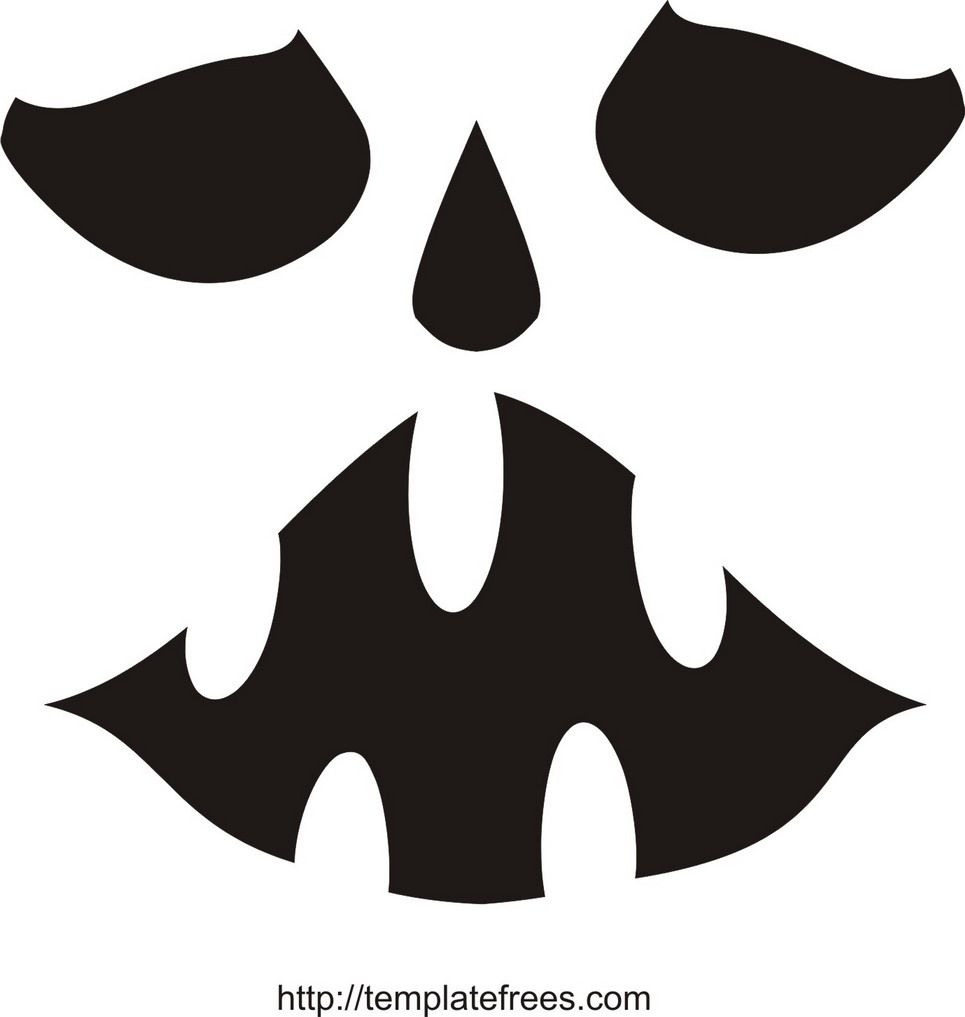 Printable Scary Pumpkin Carving Stencils | Free Printable Pumpkin - Scary Pumpkin Patterns Free Printable