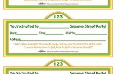 Printable Sesame Street Sign Invitation – Coolest Free Printables – Free Printable Sesame Street Sign