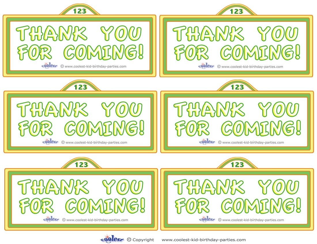 Printable Sesame Street Sign Thank You Cards - Coolest Free - Free Printable Sesame Street Sign
