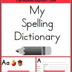 Printable Spelling Dictionary For Kids | For My Students | Escuela   My Spelling Dictionary Printable Free