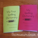 Printable Spelling Dictionary For Kids | Free Cute Printables   My Spelling Dictionary Printable Free