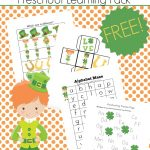 Printable St Patricks Day Activities For Preschoolers   Free Printable March Activities