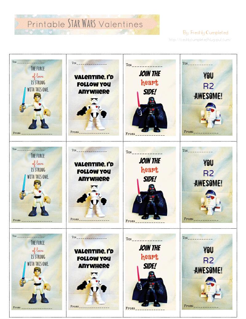 Printable Star Wars Valentines.pdf - You R2 Awesome!   Free - Star Wars Printable Cards Free