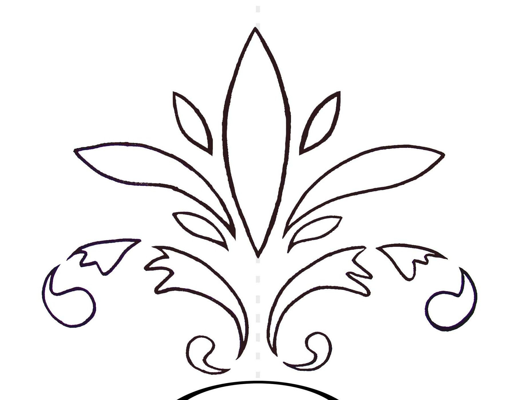 Printable Stencils With Simple Design | Stencils Printable - Damask Stencil Printable Free