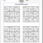 Printable Sudoku Free   Part 50   Free Printable Sudoku With Answers