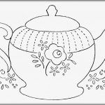 Printable Teapot Coloring Pages   Coloring Home   Free Teapot Printable