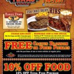 Printable Texas Roadhouse Coupons   Video Dailymotion   Texas   Texas Roadhouse Free Appetizer Printable Coupon 2015