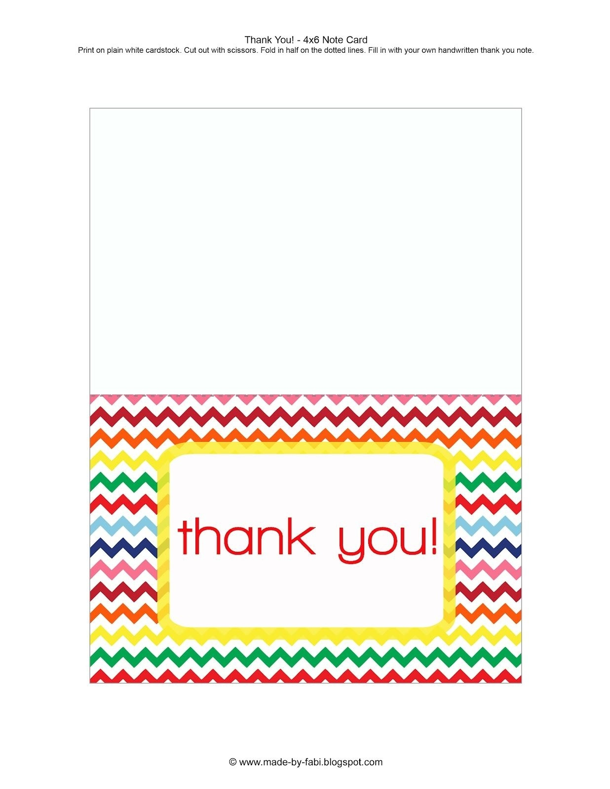 Printable Thank You Cards For Students - Printable Cards - Free Printable Thank You Cards For Teachers