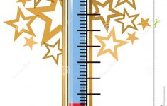 Printable Thermometer | Free Download Best Printable Thermometer On – Free Printable Goal Thermometer Template