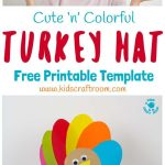 Printable Turkey Hats | Tween Crafts | Thanksgiving Crafts For Kids   Free Printable Thanksgiving Hats