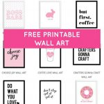 Printable Wall Art   Print Wall Decor And Poster Prints For Your   Free Printable Wall Art Quotes