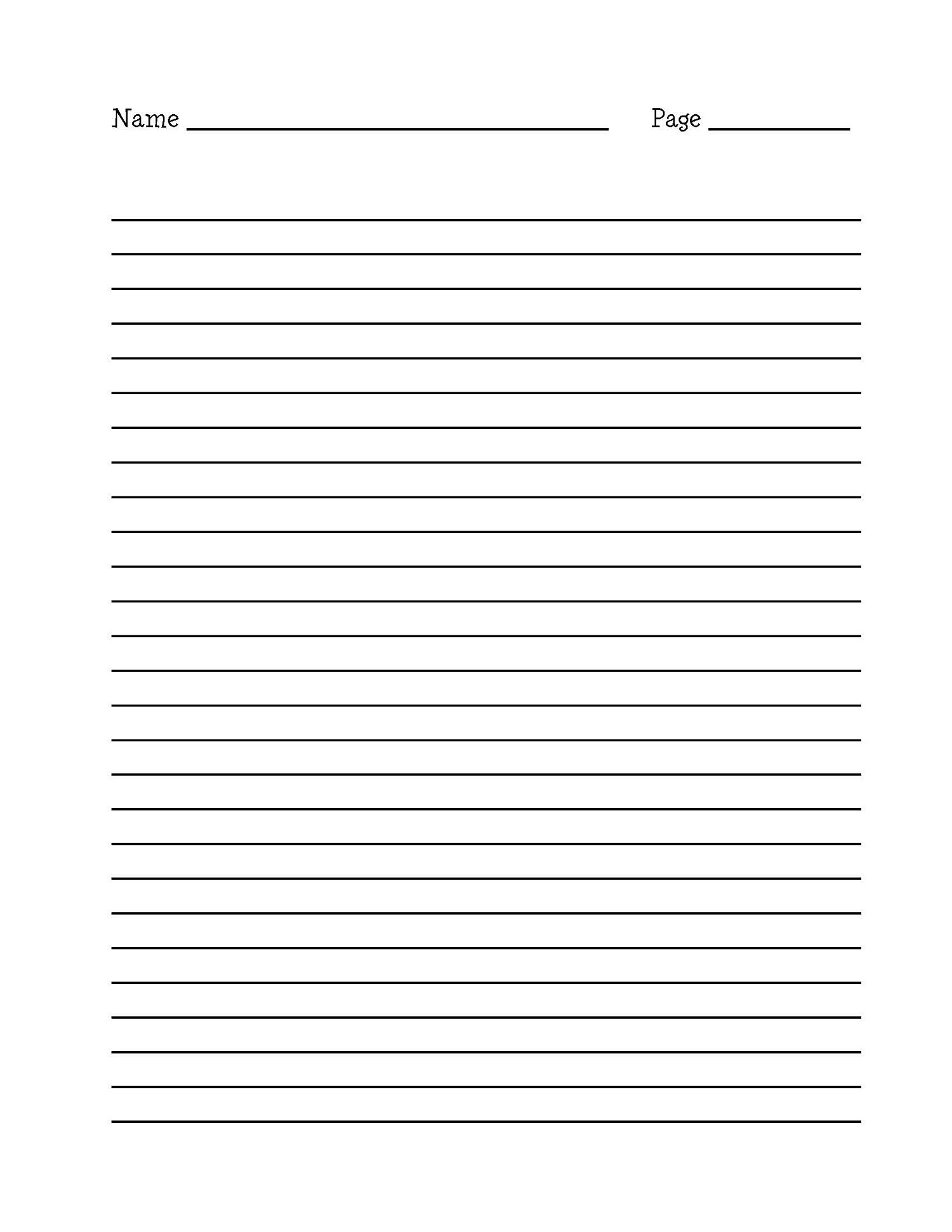 Printable Writing Paper With Border - Floss Papers - Free Printable Writing Paper With Borders