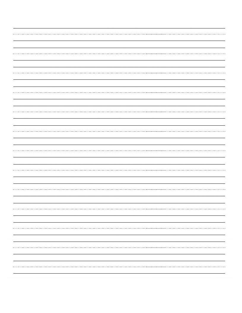 Printable+Blank+Writing+Worksheet   Teaching   Cursive Writing - Blank Handwriting Worksheets Printable Free