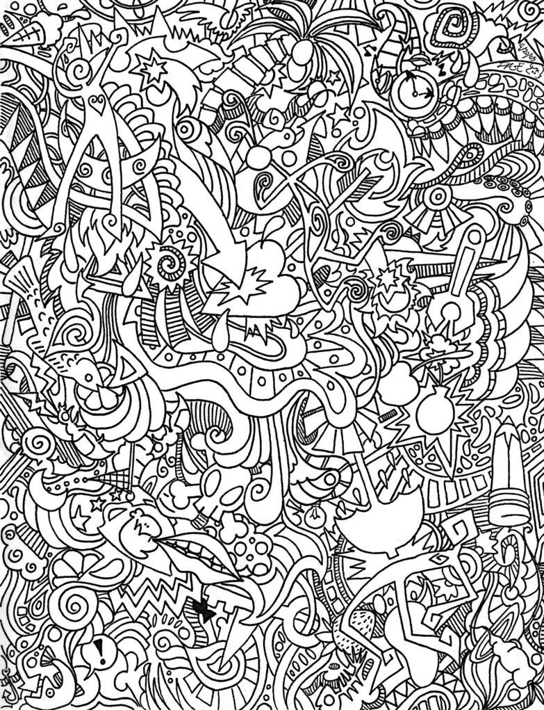 Psychedelic Coloring Pages For Adults | Visit For More | Abstract - Free Printable Trippy Coloring Pages