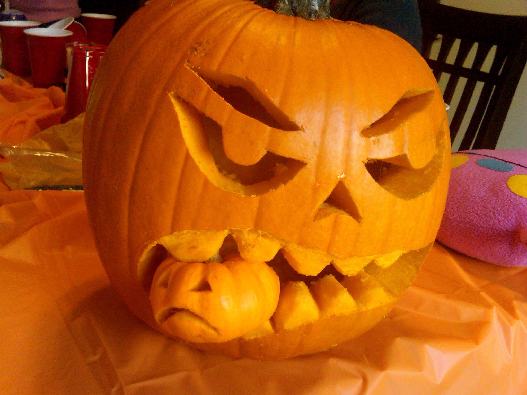 Pumpkin Carving Templates Scary - Free Printable Scary Pumpkin Patterns