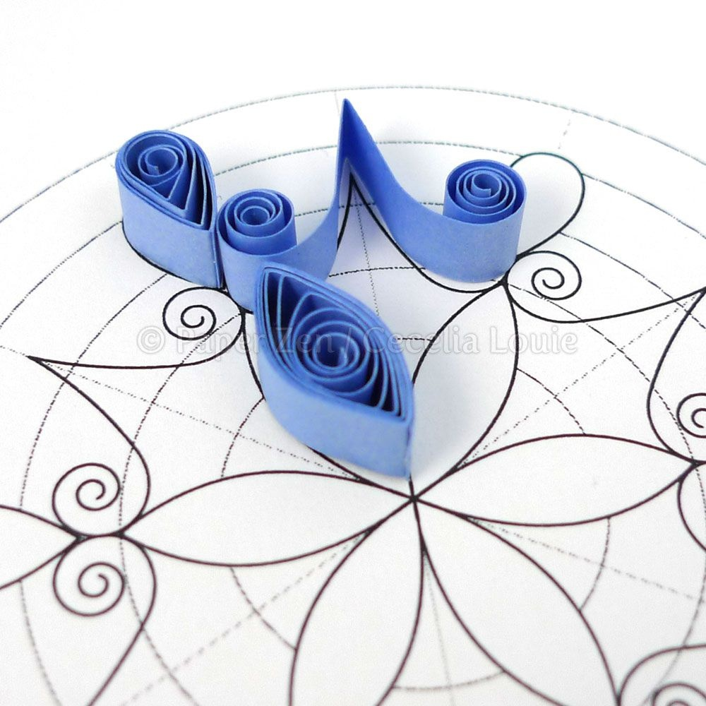 Quilling Snowflake Pattern: Arctic   Paper Crafts   Paper Quilling - Free Printable Quilling Patterns Designs