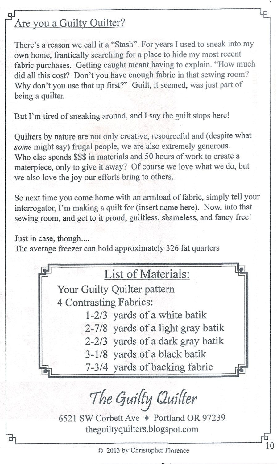 Quilt Pattern - Labyrinth Walk - Instruction Guide, Patternthe - Printable Thangles Free