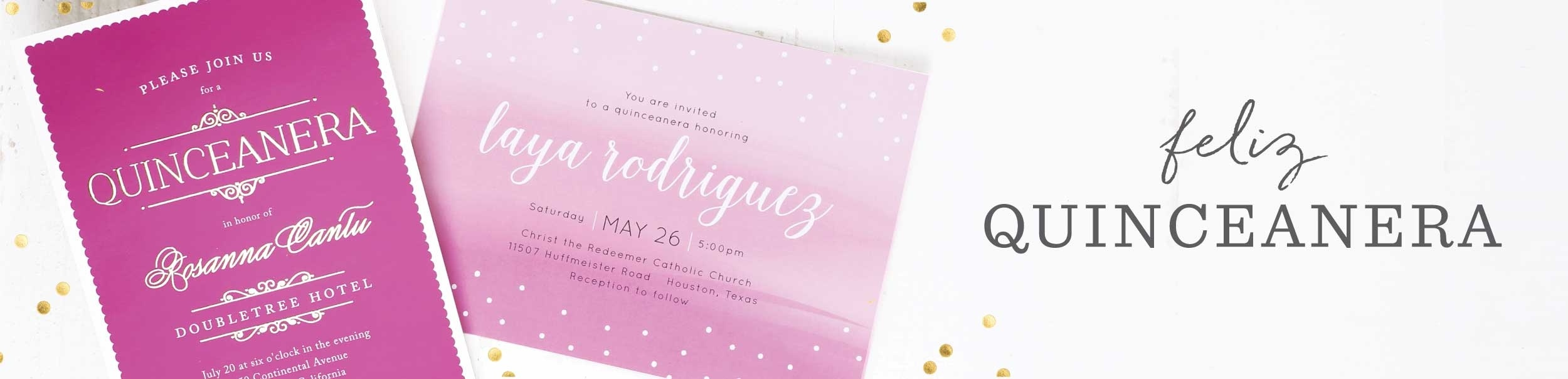Quinceañera Invitations | Match Your Color & Style Free - Basic Invite‎ - Free Printable Quinceanera Invitations