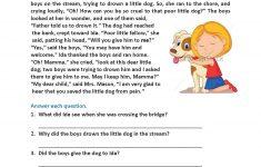 Reading Worksheets | Second Grade Reading Worksheets – Free Printable Short Stories For 2Nd Graders