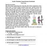 Reading Worksheets | Third Grade Reading Worksheets   Free Printable 3Rd Grade Reading Worksheets