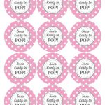 Ready To Pop Printable Labels Free | Baby Shower Ideas | Baby Shower   Free Printable Baby Shower Favor Tags Template