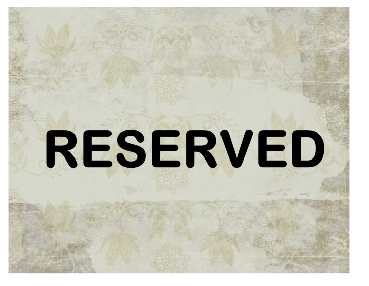 Free Printable Reserved Table Signs