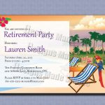 Retirement Party Invitations Template 2Xizvtxm | Retirement Or Cooks   Free Printable Retirement Party Invitations