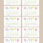 Review Free Printable Diaper Raffle Tickets For Baby Shower   Ideas   Free Printable Diaper Raffle Ticket Template
